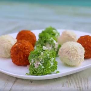 Видео рецепт: Шарени солени бомбици