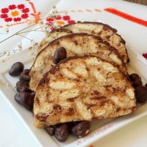 Кекс со банани и слатка павлака (посно)