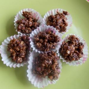 Чоколадни банана мусли