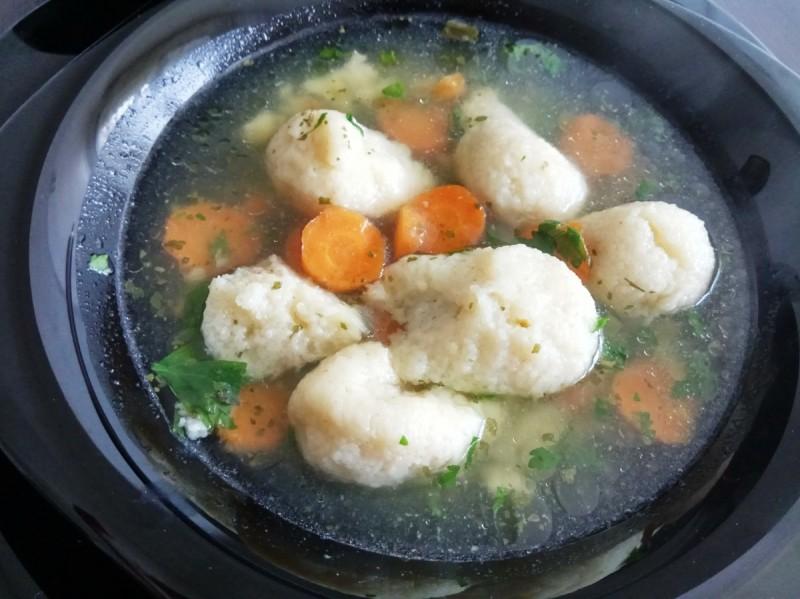 Гриз кнедли за супа