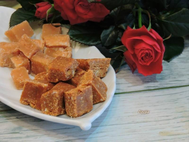 Домашен печен шеќер со ореви и млеко