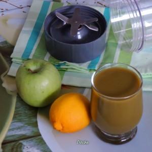 Вегански зелен сок