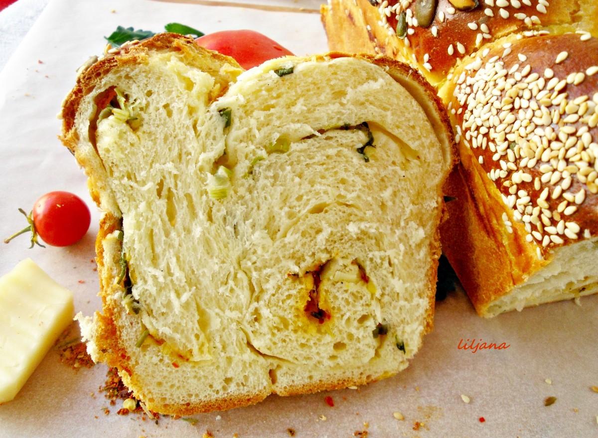Леб со млад кромид