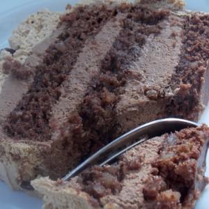 Чоколадна кафе торта