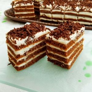 Чоко-ванила колач