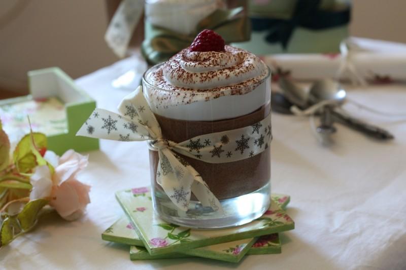 Мус од чоколадо и гриз