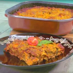 Видео рецепт: Лазањи со зеленчук