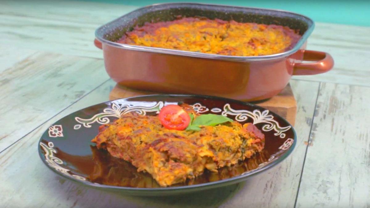 Видео рецепт  Лазањи со зеленчук