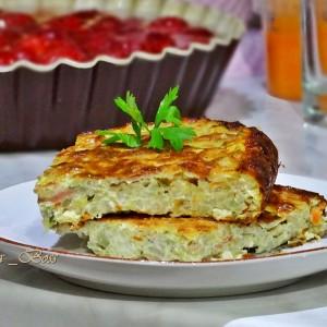 Суфле од ориз и тиквички