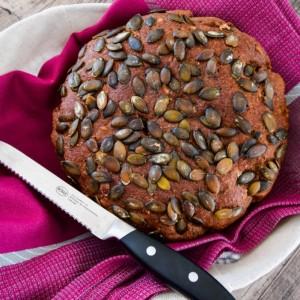 Безквасен леб од ржано и овесно брашно (хроно)