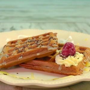 Видео рецепт: Чоколадни вафли