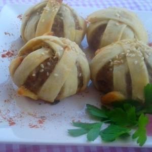 Ќофтиња печени во лиснато тесто