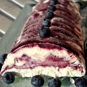 Сладолед торта од боровинки