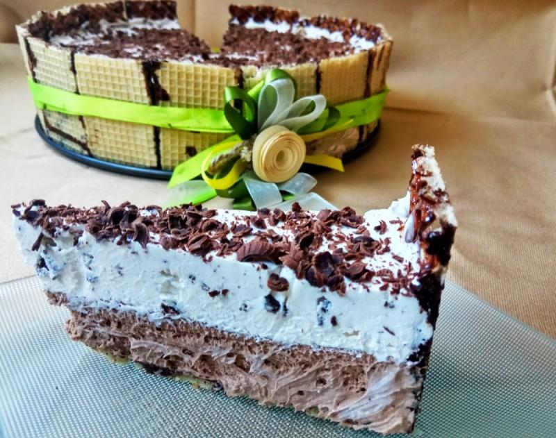 Сладолед корнет торта