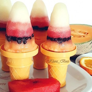 Мелон виножито сладолед
