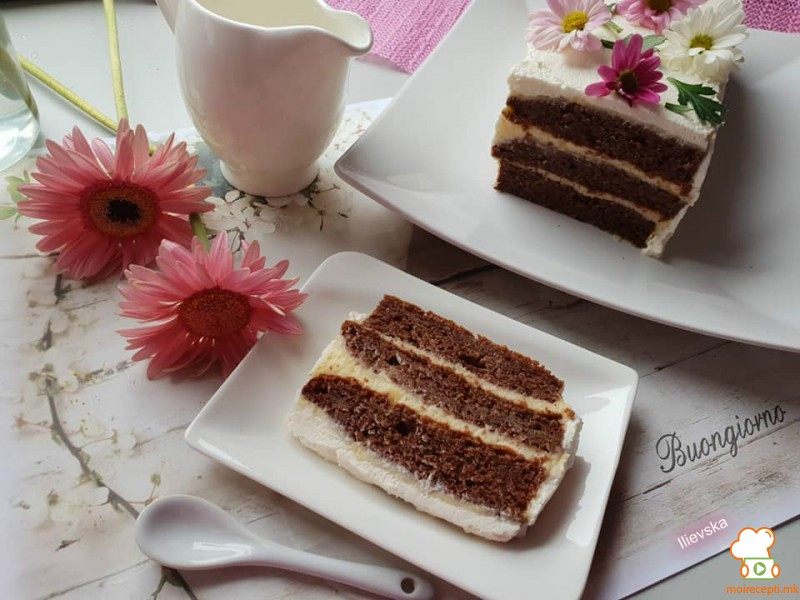 Гербер торта