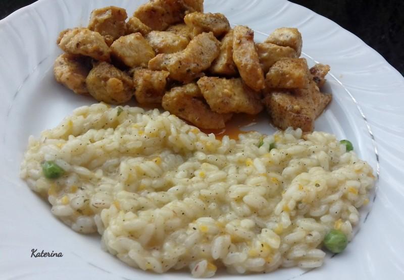Сочно пилешко со кари