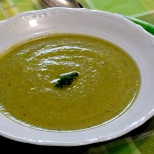 Потаж со мешан зеленчук (посно, без масло)