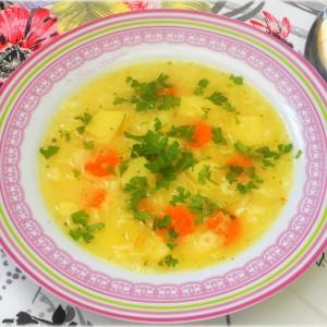Густа супа со компирчиња