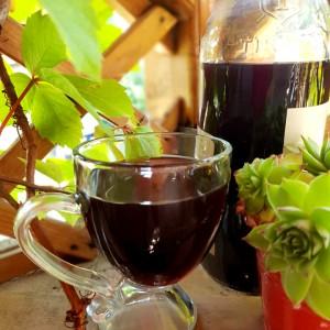 Сок од бобонки (дудинка, црцница)