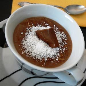 Чоколаден овесен пудинг