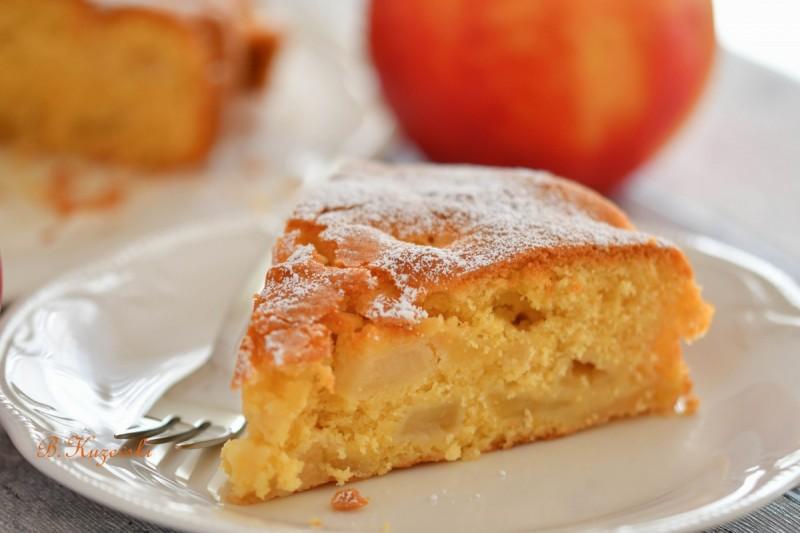 Едноставен колач со јаболка