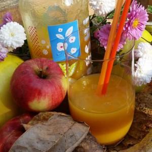 Густ сок од дуњи, јаболка и моркови