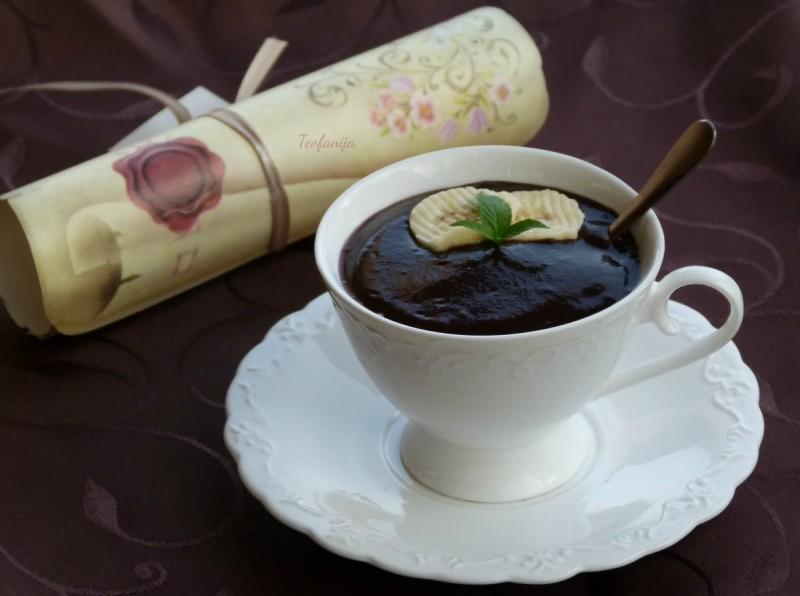 Чоколадно фрапе со спанаќ