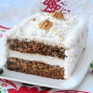 Торта со таан (посно)