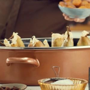 Видео рецепт: Круши во вино