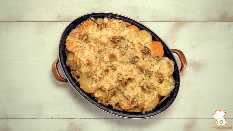Видео рецепт: Гратинирани компири