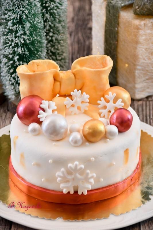 Празнична лешник торта
