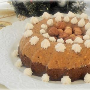 Тортичка со ореви, лешници и таан (посно)