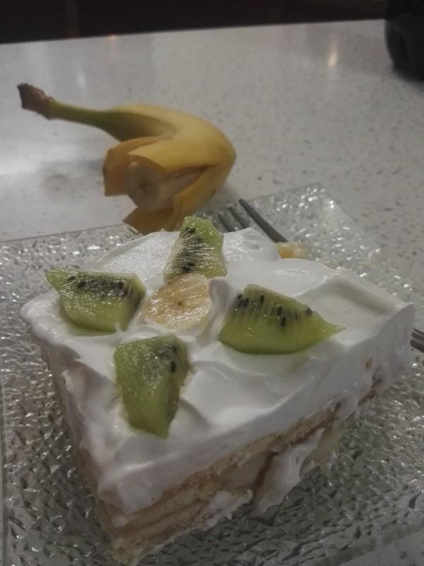 Новогодишна овошна торта