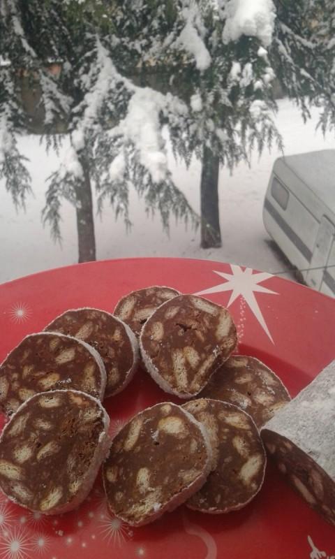 Чоколадно оражн колаче (посно, без печење)