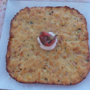 Брза пита со бајат леб