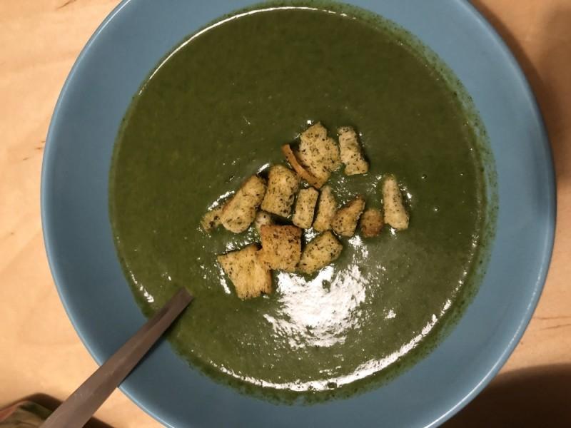 Крем супа од спанаќ