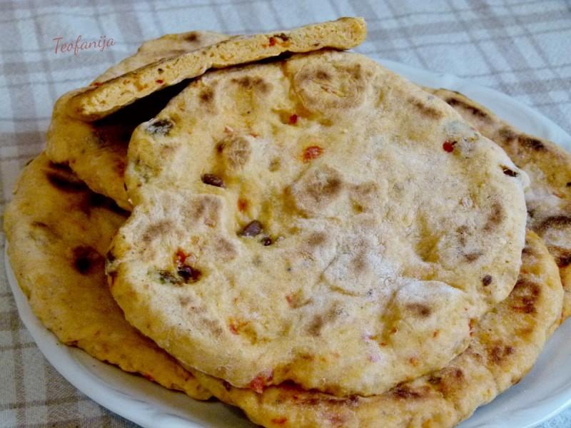 Питулици со ајвар и маслинки (посно)