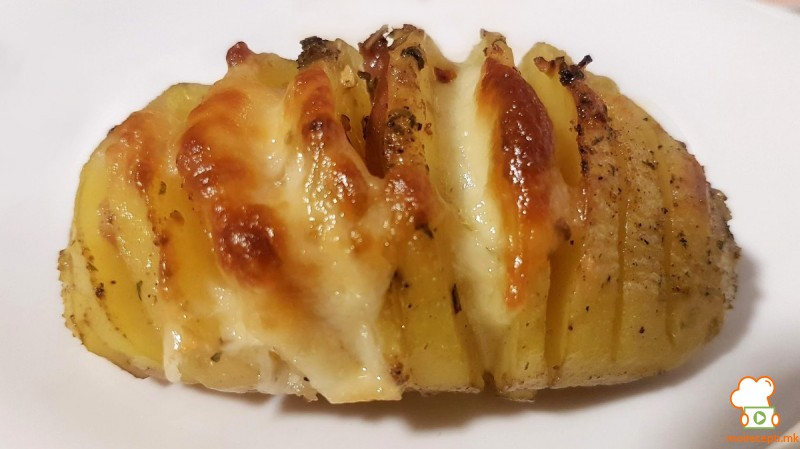 Засечени печени компири - Лепеза компири