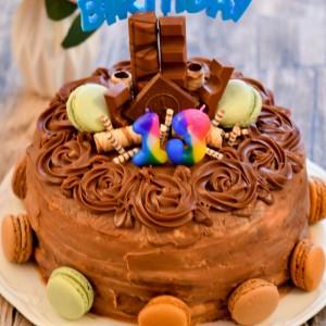 Кремаста чоколадна торта