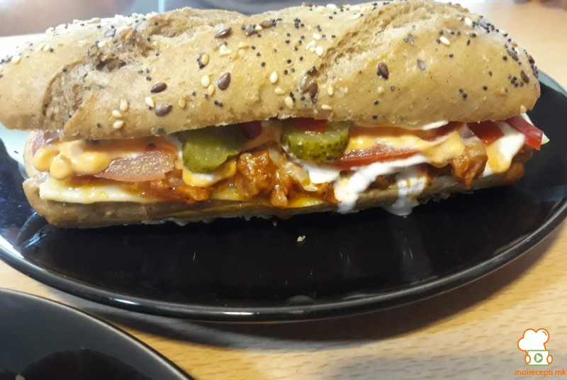 Домашен сабвеј сендвич