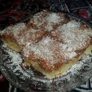 Брз и едноставен колач со кокос