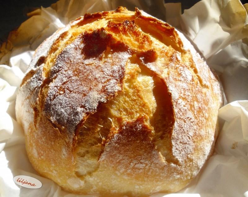 Леб без месење од домашната кујна