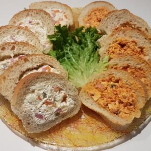 Багет леб полнет со салата