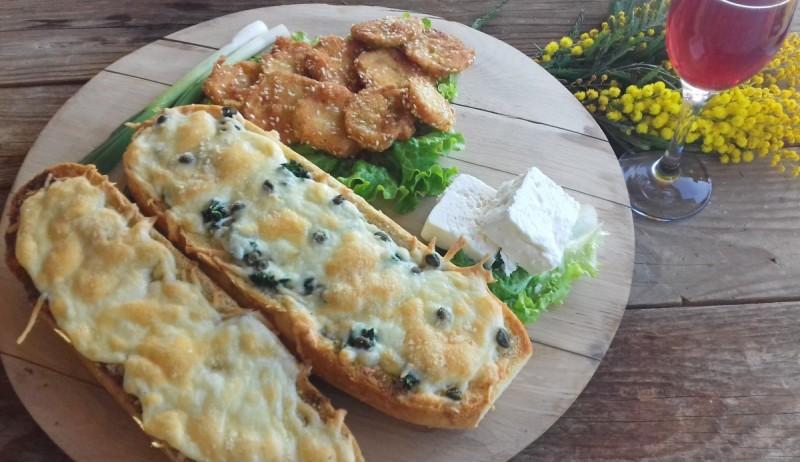 Италијанска закуска од леб