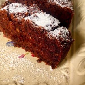 Чоколаден колач со двопек
