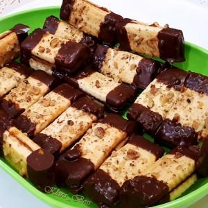 Чоколадирани орев штангли