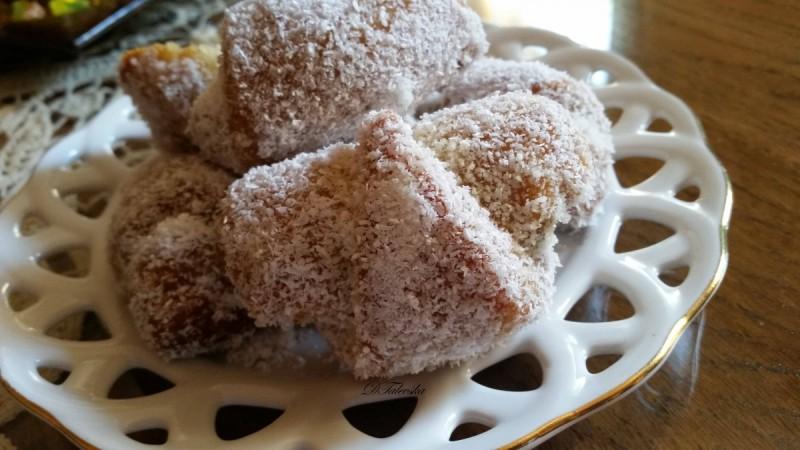 Парени колачиња со фил (посно)