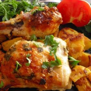 Пилешко маринирано со јогурт