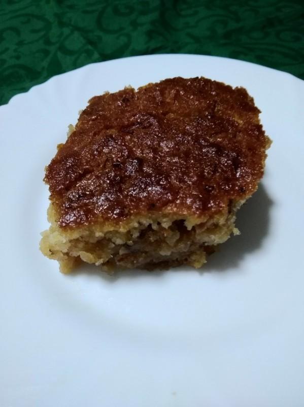 Парена торта со јаболка (посно)